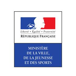 Logo Ministère de la ville de la jeunesse et des sports
